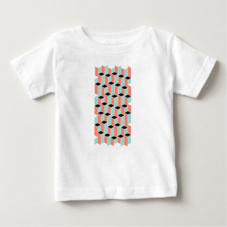 Pillars of Coral, Mint, and Black Baby T-Shirt