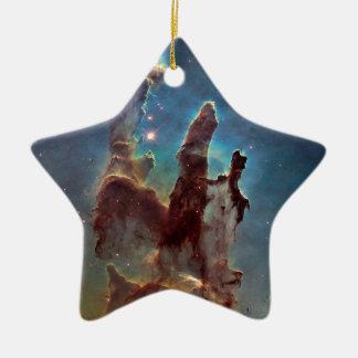 Pillars of Creation Ceramic Star Ornament
