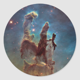 Pillars of Creation Classic Round Sticker