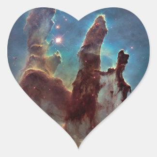 Pillars of Creation Heart Sticker