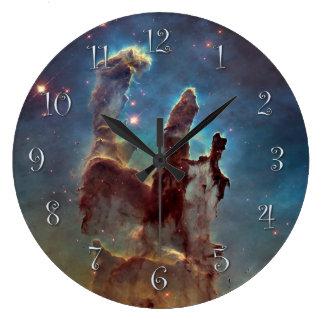 Pillars of Creation Large Clock