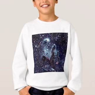 Pillars of Creation Nebula Blue Slate Sweatshirt