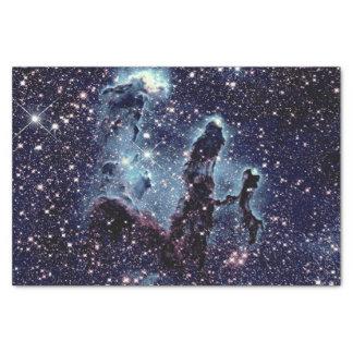 Pillars of Creation Nebula Blue Slate Tissue Paper