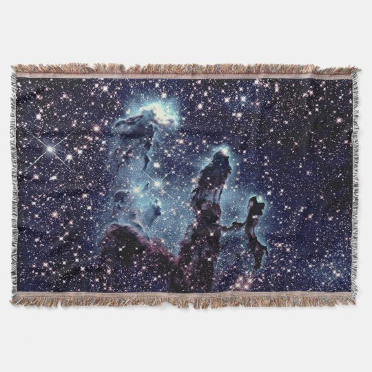 Pillars of Creation Nebula Throw Blanket