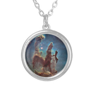 Pillars of Creation Silver Plated Necklace