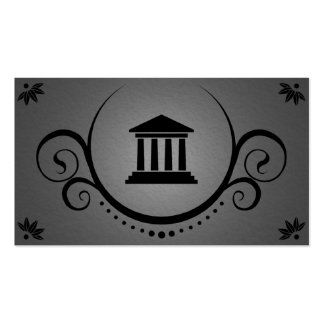 pillars of justice sophistications business card template