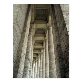 Pillars of Vatican Postcard