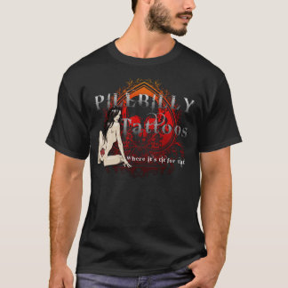 Pillbilly Brand Tattoo Black T-Shirt