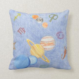 Pillow 13 Zodiac Planets