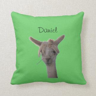 Pillow - Alpaca portrait