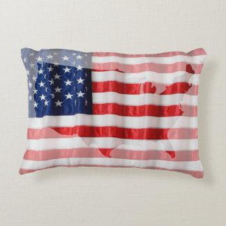 Pillow-American Flag Decorative Pillow