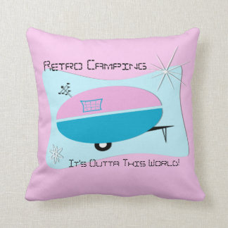 PILLOW Atomic Space Age Camper Pillow