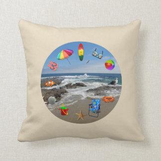 Pillow beach ocean beach items