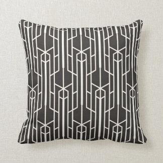 Pillow - Black White Art Deco