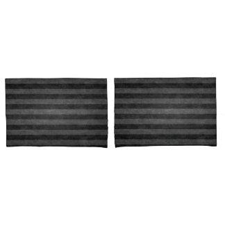 Pillow Case - Grey Stripes