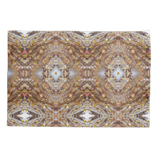 Pillow Case, Standard- Earth Tones Beads Print Pillowcase