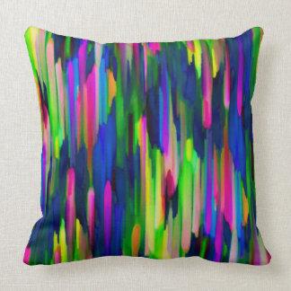 Pillow Colorful digital art splashing G256