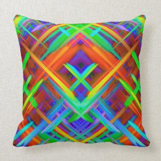 Pillow Colorful digital art splashing G466