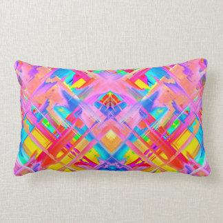 Pillow Colorful digital art splashing G470