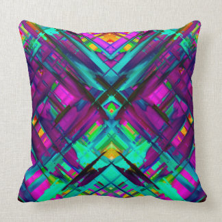 Pillow Colorful digital art splashing G472