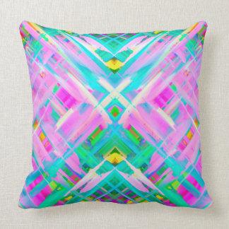 Pillow Colorful digital art splashing G473