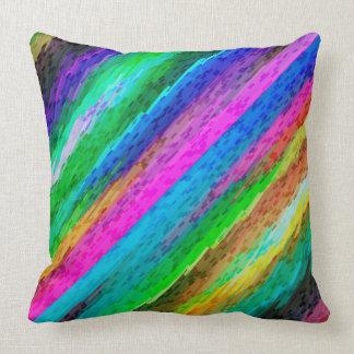 Pillow Colorful digital art splashing G478