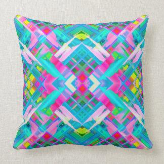 Pillow Colorful digital art splashing G481