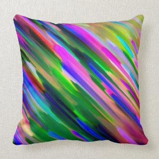 Pillow Colorful digital art splashing G487