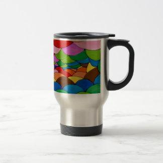 Pillow colour travel mug