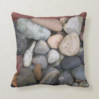 Pillow/Cushion-Rocks # 2. © Roseanne Pears 2012. Throw Pillow