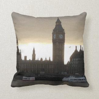 Pillow, Decorative London Big Ben Throw Pillow