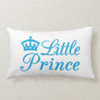 Pillow design little prince, with blue crown