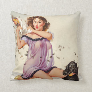 Pillow Fight Pin Up