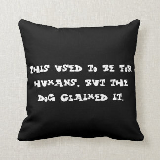 Pillow for a dog's home