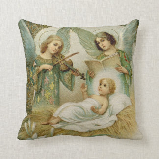 Pillow: Gloria in Excelsis Deo Throw Pillow