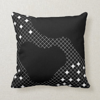 Pillow in modern geometric abstract style
