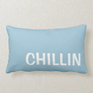 Pillow in Pale Sky Blue for Chillin