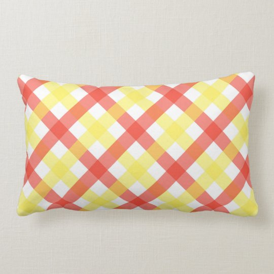 Pillow - Lattice for Candy Stripe Zinnia