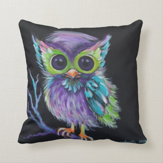 "Pillow ""Owl be Your Friend"""