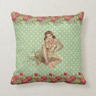 Pillow pin up aloha