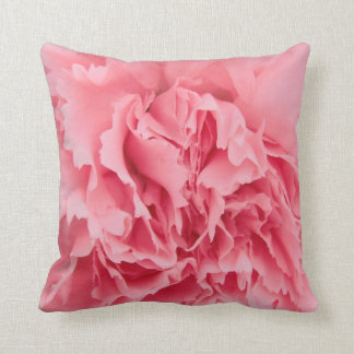 Pillow Pink Carnation Close Up