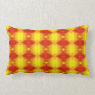 pillow red and yellow