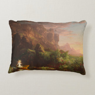Pillow The Voyage of Life Childhood, Thomas Cole