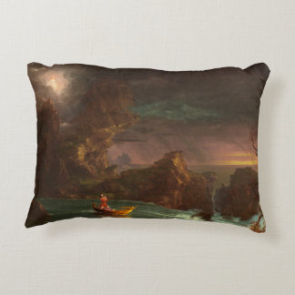 Pillow The Voyage of Life, Manhood, Thomas Cole