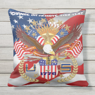 Pillow Throw Outdoor 2 Designs Different