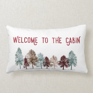 Pillow - Welcome to the Cabin