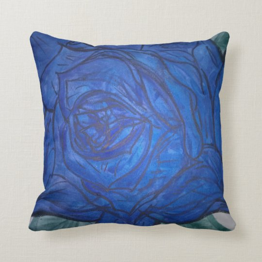 pillow with artwork from btje