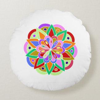 Pillow with beautiful mandala design