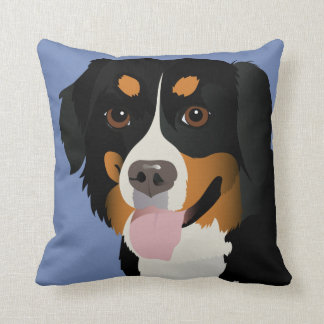 Pillow with Bernese Mountain dog 2