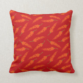Pillow with hot chili peppers